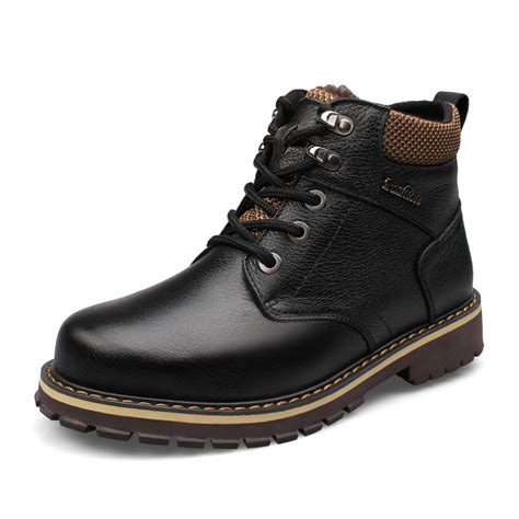 large size mens boots large size winter snow mens boots casual high
