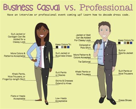 business casual vs professional decode the dress code