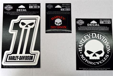 Harley Aufkleber Set by Hd Harley Davidson Aufkleber Decal Set 1 3 Teilig Ebay