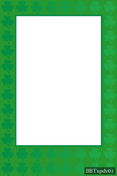 St S Day Photo Card Template by Free Photo Greeting Card Templates Brown Bottle St Pat 01