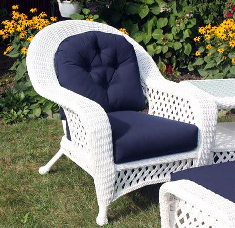 white rattan outdoor furniture white outdoor wicker chair
