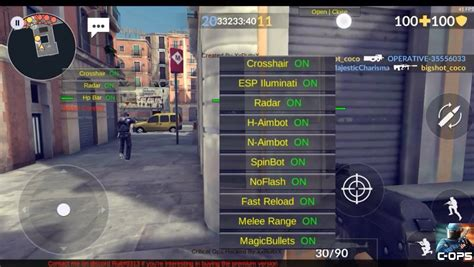 mod game android tutorial new critical ops v0 7 1 5 mod menu android tutorial blog