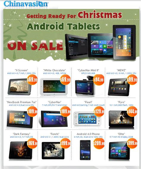 android tablets on sale chinavasion current promotion android tablets on sale realitynow2012