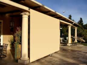 outdoor patio roller shades mediterranean patio los angeles by superior awning inc