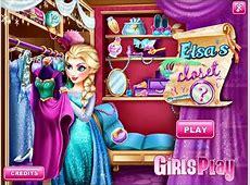 Disney Frozen Games- Elsa's Closet- Fun Online Fashion ... Kids Games For Girls Disney Free Online