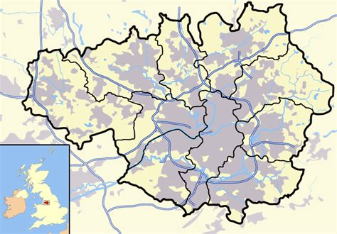 Prentice Historical Outline Map 71 by Stockport