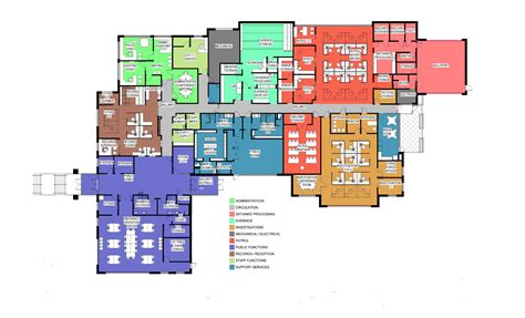 Police Station Floor Plan | kaysville city police station bond