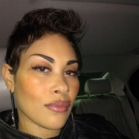 keke wyatts short cut with long front 18 best hair shaved sides images on pinterest hair cut