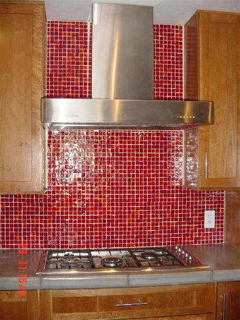 red glass tile kitchen backsplash old tile ideas on pinterest glass tiles kitchen