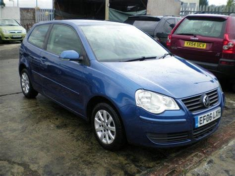 volkswagen polo 2006 for sale used volkswagen polo 2006 model 1 2 se 64 3dr petrol