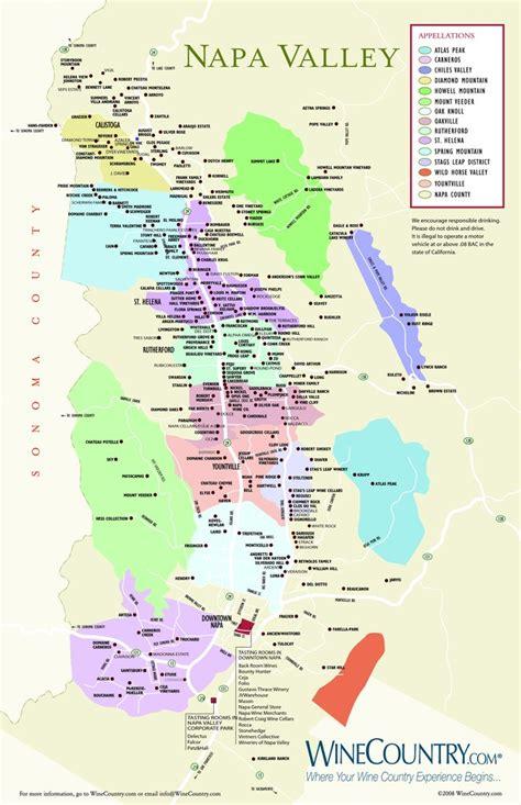 napa valley winery map napa valley winery map maplets