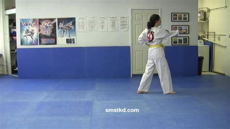 youtube taekwondo pattern 1 taegeuk il jang 1 poomsae tkd taeguk pattern 1 youtube