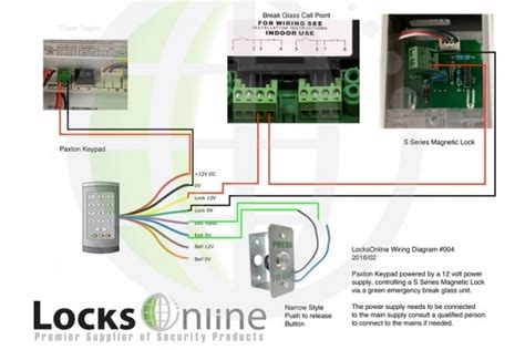 netaxs single door wiring diagram doorbell wire connection