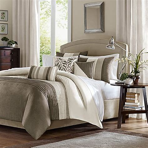 bed bath and beyond comforter sets king buy amherst natural california king comforter set 7 piece