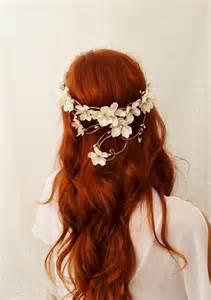 ivory wedding headpiece ivory flower crown hair wreath