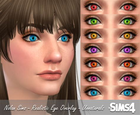 sims 4 realistic eyes my sims 4 blog realistic eye overlay naturals by nolansims