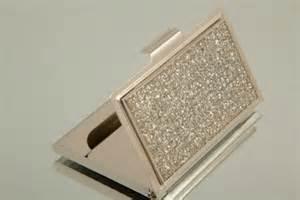 bling business card holder bling rectangle business card holder