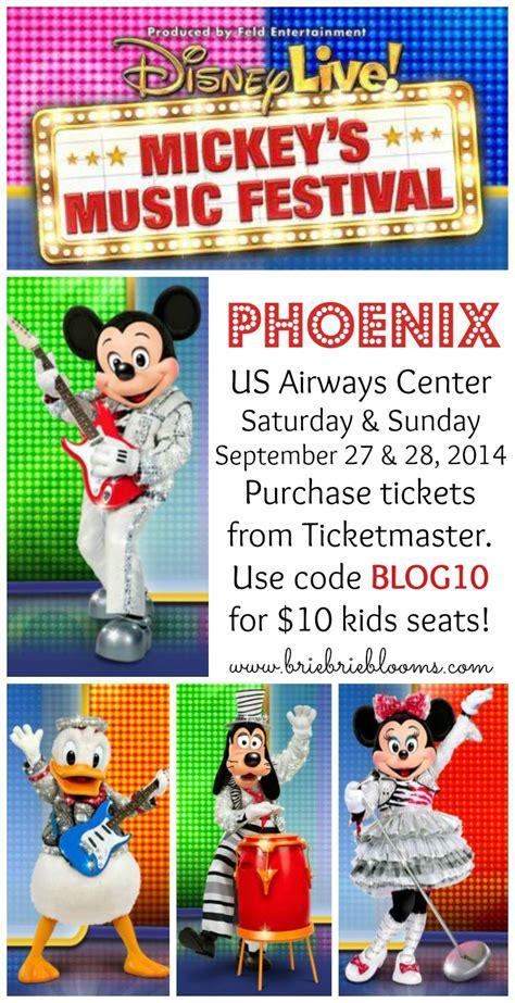 phoenix fan fest promo code disney live mickey s music festival comes to phoenix