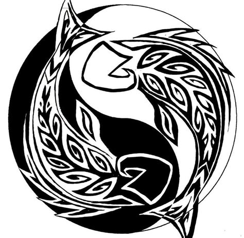 tribal fish tattoo designs pisces images designs