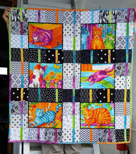 quilt pattern it s all black and white busy hands quilts splash of color quilt along finished