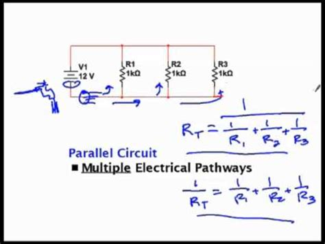 calculate resistor parallel circuit parallel and series resistor circuit analysis worked ex doovi