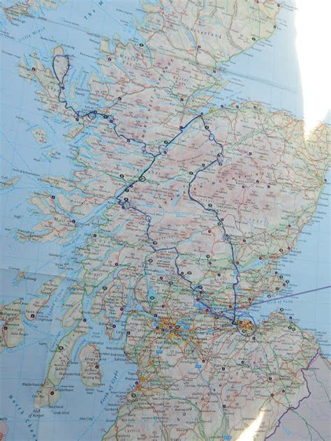 printable road map of scotland where to go in scotland the best road trip ever