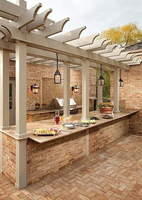 Top 15 Outdoor Kitchen Designs And Their Costs 24h Site Small House Plans With Outdoor Kitchen