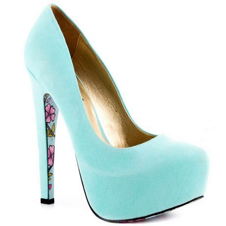 light blue high heels light blue high heels