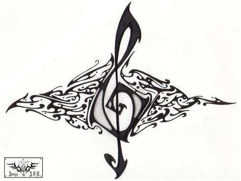 tattoo tribal music dibujos tribales de flores imagui