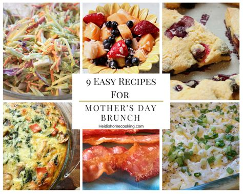 s day cooking 9 easy recipes for s day brunch heidi s home cooking