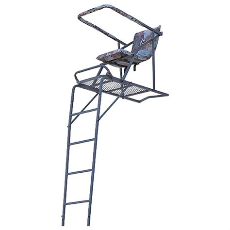 Comfort Zone Treestand by Guide Gear 17 Comfort Ladder Tree Stand 220009