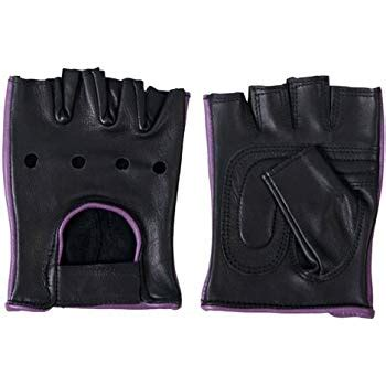 ladies hot pink leather gloves ladies pink leather fingerless gloves w padded