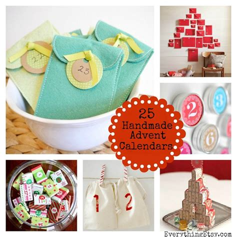 Advent Calendar Handmade - 25 handmade advent calendars