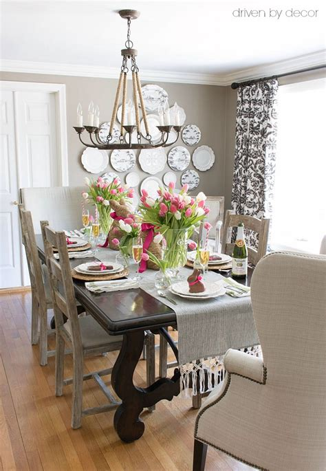 The Simple Dining Room Store Setting A Simple Easter Table With Decorations You Can Snag At The Grocery Store Driven By