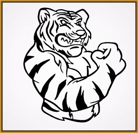 Imagenes De Tigres Faciles Para Dibujar | dibujos de tigres faciles para dibujar archivos fotos de