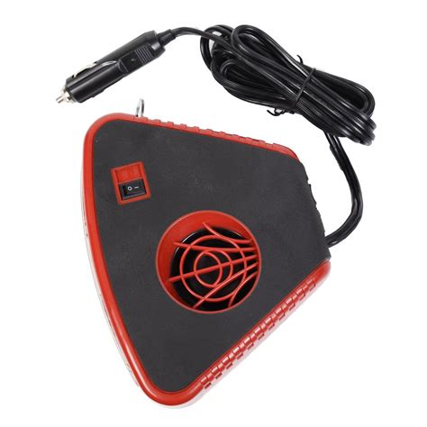 12 volt dc electric heaters auto portable heater fan defroster with light electric car