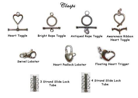 different types of bracelet clasps k  k.club 2017