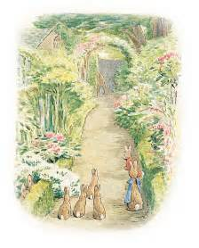 Beatrix Potter Wall Mural beatrix potter illustrations beatrix potter