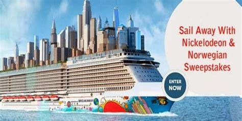Nickelodeon Cruise Sweepstakes - norwegian cruise line sweepstakes sweepstakesbible