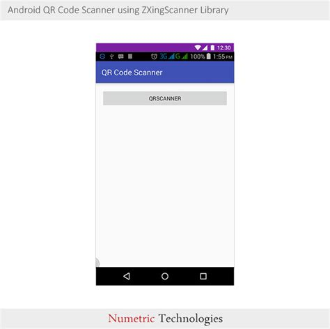 android studio qr code tutorial android qr code scanner using zxingscanner library