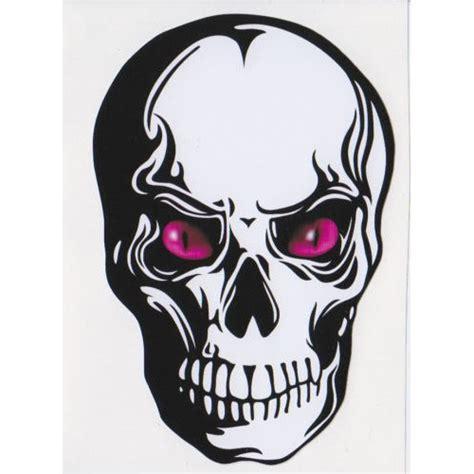 Fahrrad Aufkleber Totenkopf by Evil Skull Car Bike Helmet Sticker Decal 2