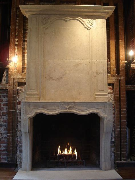 Limestone Fireplace by Our Inspired Home Style Fireplaces And