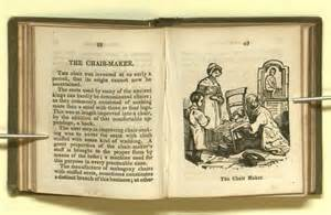 Traditional Chair Miniature Books History