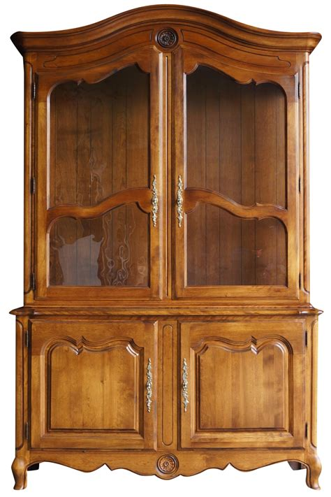 country china cabinet ethan allen country china cabinet chairish