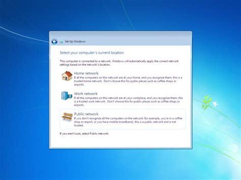 tutorial instal windows 7 pc image gallery setup windows 7