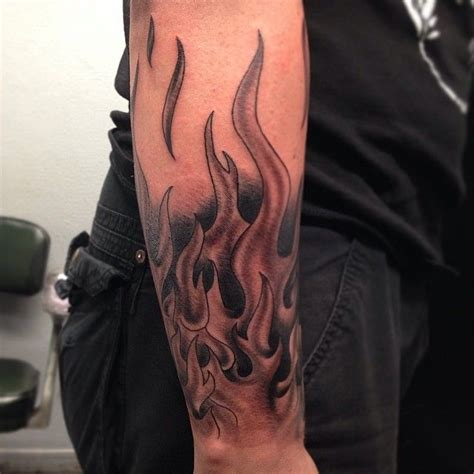 tribal flame sleeve tattoo the 25 best tattoos ideas on