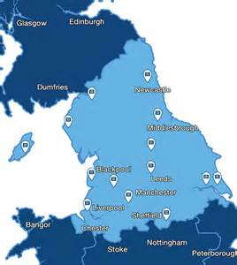 Map Of Northern England by Northern England Related Keywords Amp Suggestions Northern