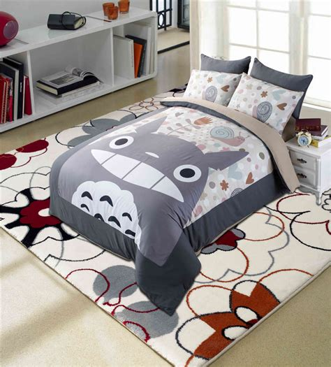 character twin beds popular totoro bed set buy cheap totoro bed set lots from