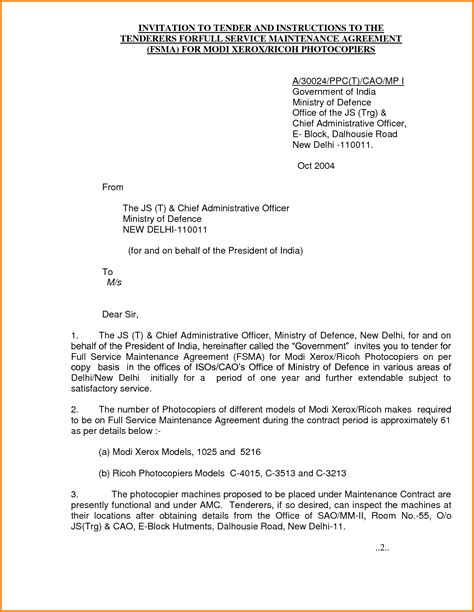 Business Letter Format For Government invitation letter government official sle letters