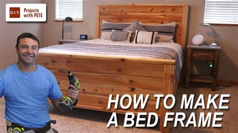 How To Make A Bed Frame With Free Queen Size Bed Frame How To Make A Size Bed